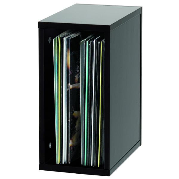 Record Box - Black Record Box for 55 Records