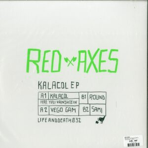 Red Axes - Kalacol Ep (Back)