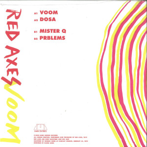 Red Axes - Voom (Back)