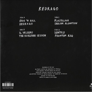 Redrago - Redrago (4 Coloured splatter on clear Vinyl 2LP) (Back)