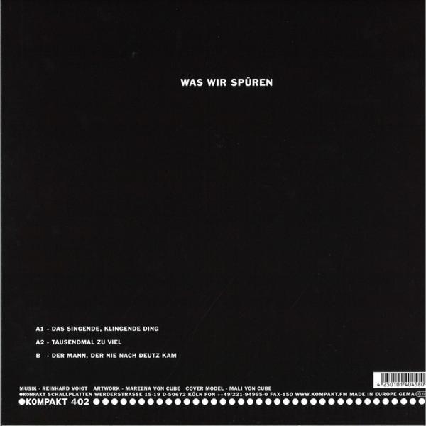 Reinhard Voigt - Was wir spüren (Back)