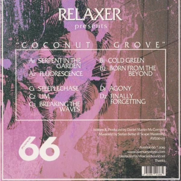 Relaxer - Coconut Grove (2LP) (Back)