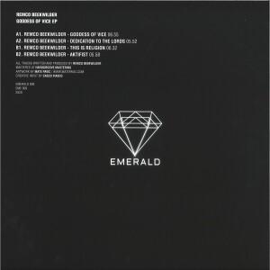 Remco Beekwilder - Goddess Of Vice EP (Back)