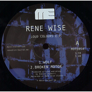 Rene Wise - Loud Colours EP