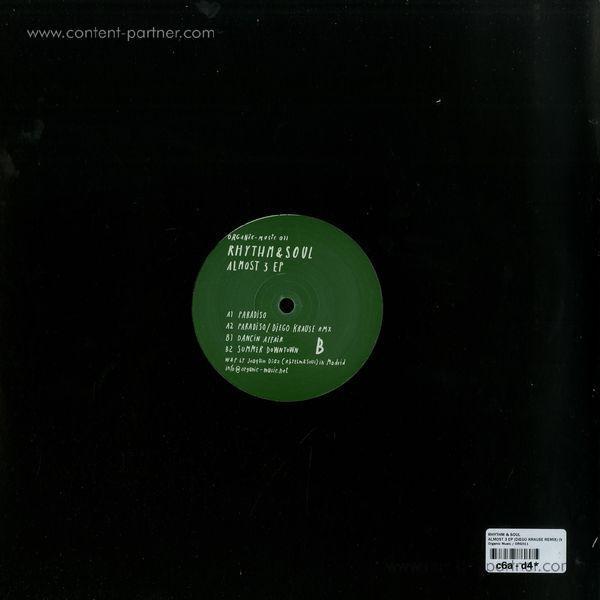 Rhythm & Soul - Almost 3 Ep ( Diego Krause Rmx) (Back)