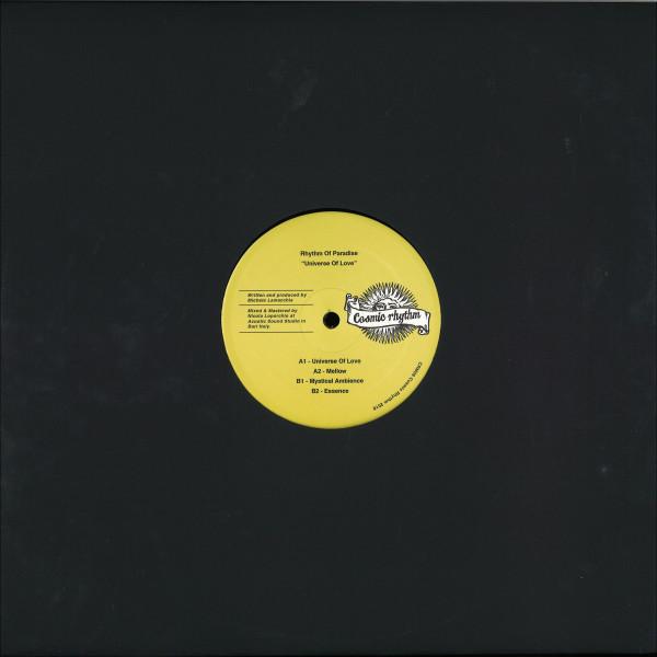 Rhythm Of Paradise - Universe Of Love (Back)