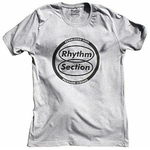 Rhythm Section Logo T-Shirt (Grey) - Size L