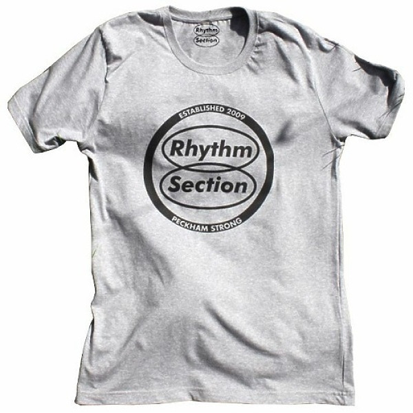 Rhythm Section Logo T-Shirt (Grey) - Size L