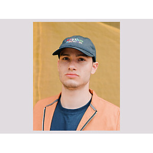 Rhythm Section 'Rainbow' Baseball Cap - Navy