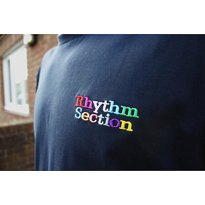 Rhythm Section Rainbow T-Shirt - Navy M