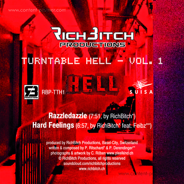 RichBitch - Turntable Hell Vol. 1 (Back)