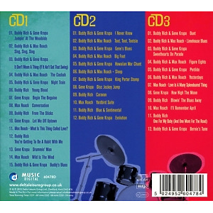 Rich,Buddy/Krupa,Gene/Roach,Max - Let There Be Drums (Back)