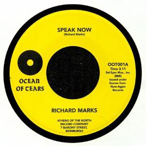 Richard Marks - Speak Now / Purple Haze