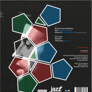 Richard Spaven - Spaven's 5ive (Clear Vinyl LP) (Back)