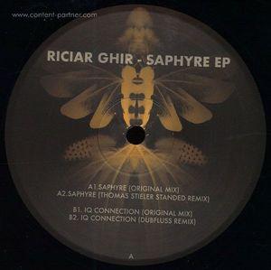 Riciar Ghir - Saphyre EP / 180 grams vinyl