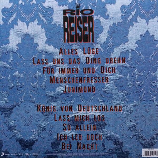 Rio Reiser - Rio I (Back)
