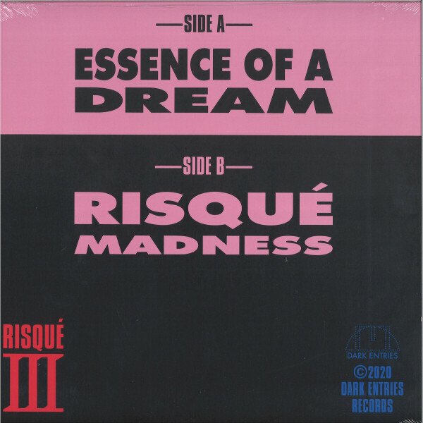 Risque III - Essence Of A Dream (Back)
