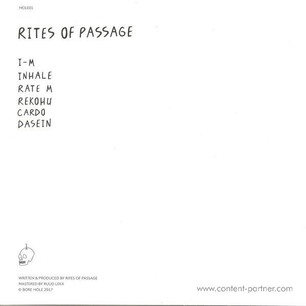 Rites of Passage - Untitled (Back)