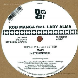 Rob Manga feat. Lady Alma - Things Will Get Better