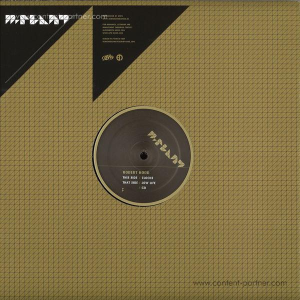 Robert Hood - CLOCKS / LOW LIFE / GO (Back)