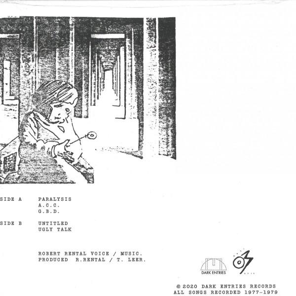 Robert Rental - Paralysis (Back)