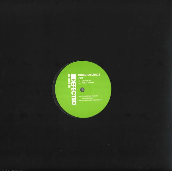 Roberto Surace - Joys (Remixes) (Back)