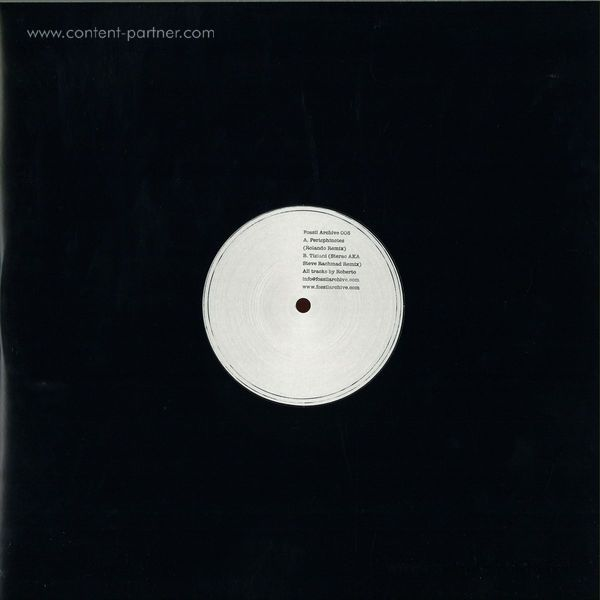 Roberto - Perisphinctes Tiziani Remixes (rolando / Sterac) (Back)