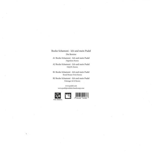 Rocko Schamoni - Ich und mein Pudel - Die Remixe (Back)