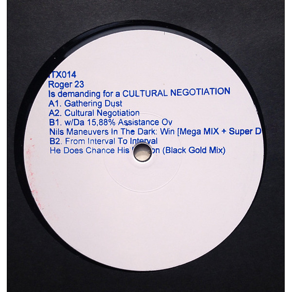 Roger 23 - is demanding for a CULTURAL NEGOTIATION (Back)