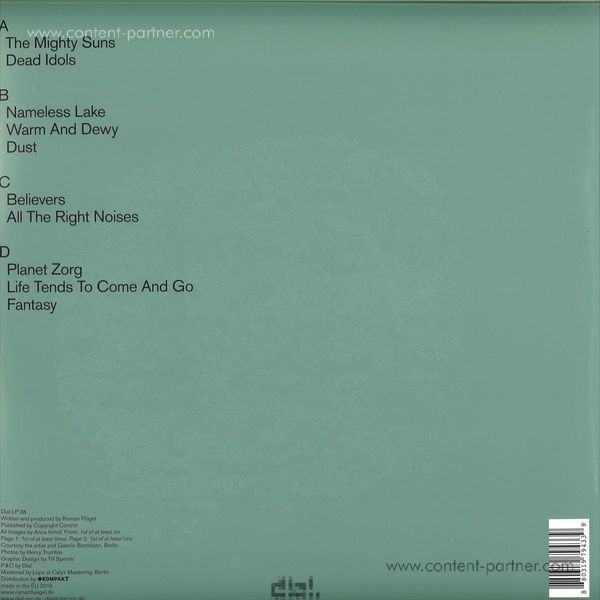 Roman Flügel - All the Right Noises (Back)