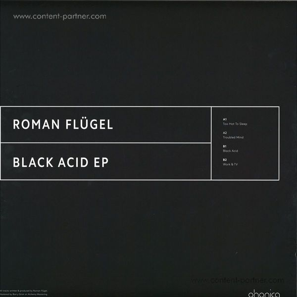 Roman Flügel - Black Acid Ep (Back)
