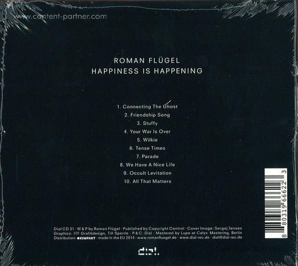 Roman Flügel - Happiness is happening (Back)