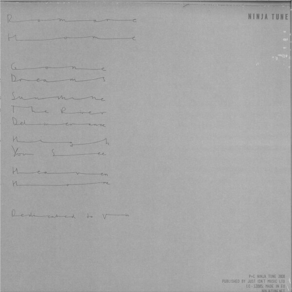 Romare - Home (Grey 2LP+ MP3) (Back)