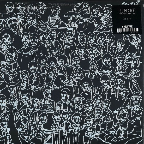 Romare - Love Songs: Part Two (2LP+MP3)