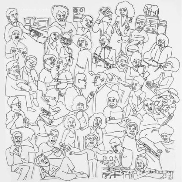 Romare - Projections (2LP + MP3)