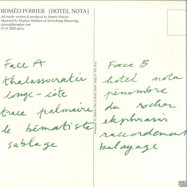 Roméo Poirier - Hotel Nota (Back)