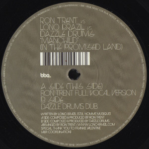 Ron Trent Vs Lono Brazil Vs Dazzle Drums - Manchild (in The Promised Land)