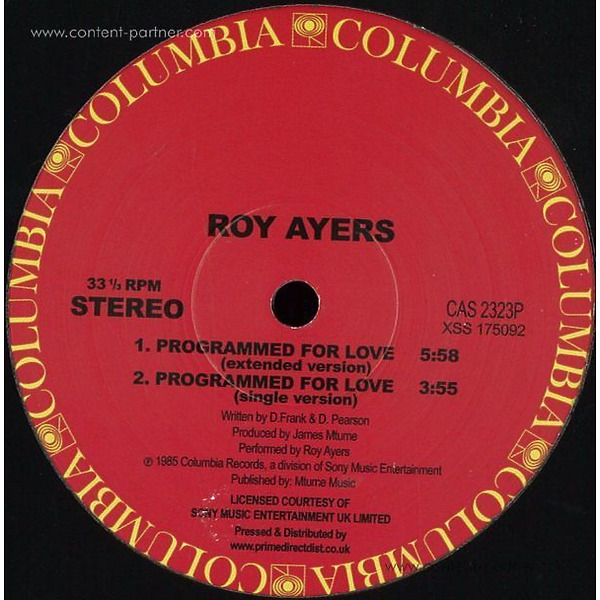 Roy Ayers - Programmed For Love