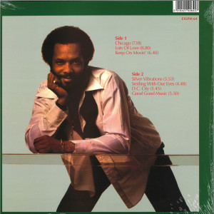 Roy Ayers - Silver Vibrations (Reissue) (Back)