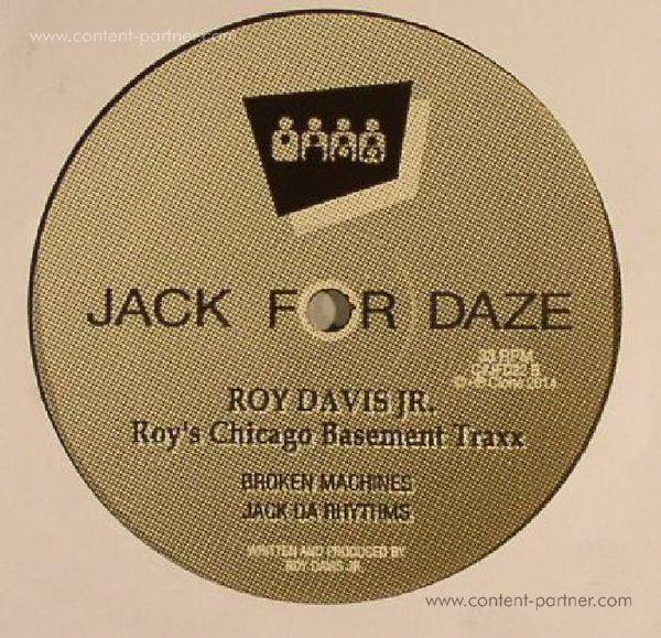 Roy Davis Jr. - Roy's Chicago Basement Traxx (Back)
