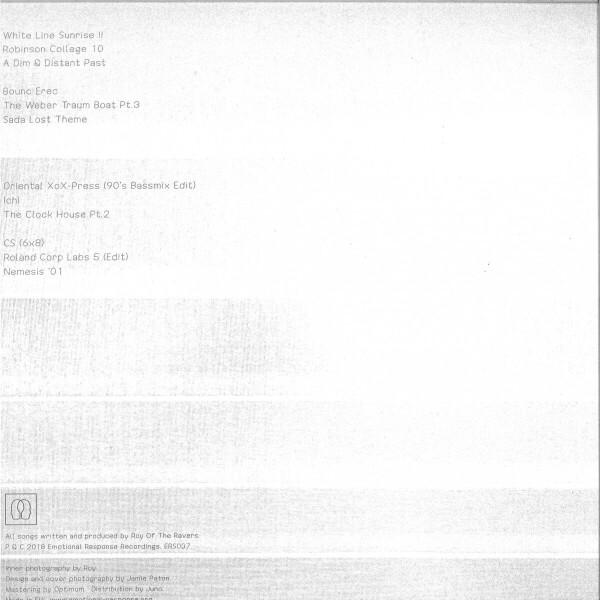 Roy Of The Ravers - White Line Sunrise II (Back)
