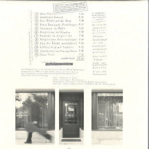 Ruedi Häusermann - Galerie Randolph (Limited Edition LP) (Back)