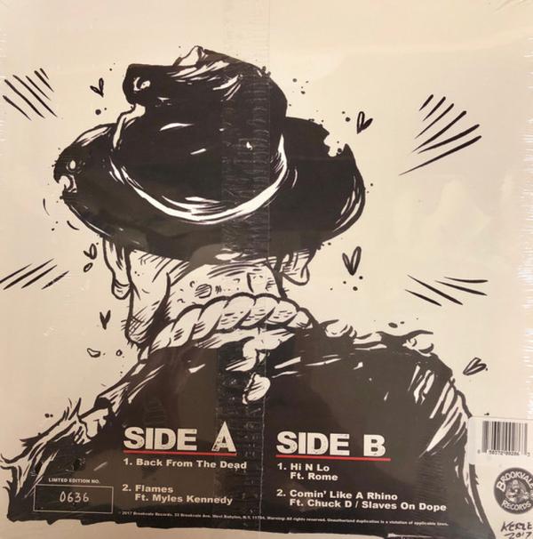"Run DMC - Back From The Dead (Red Vinyl 12"") (Back)"