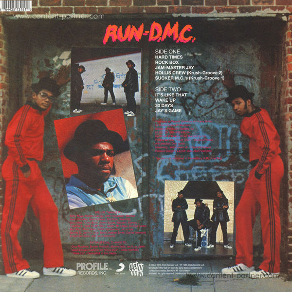 Run DMC - Run DMC (LP) (Back)