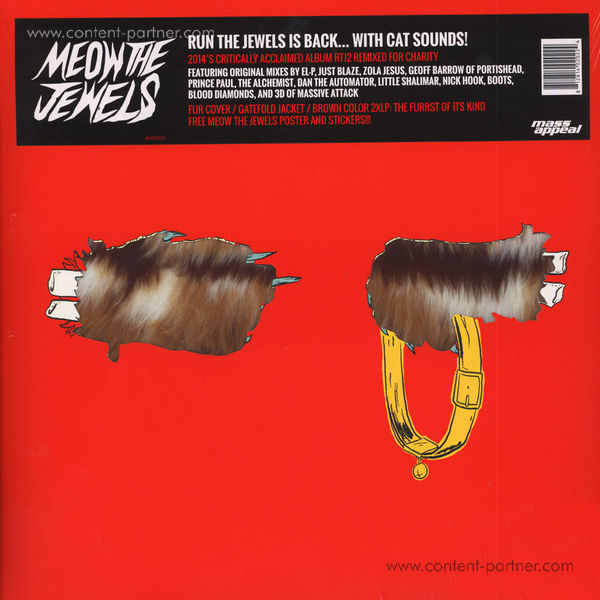 Run The Jewels (El-P & Killer Mike) - Meow The Jewels (Limited Edition 2LP)