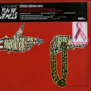 Run The Jewels (El-P & Killer Mike) - Run The Jewels 2 (180g / Pink Vinyl)