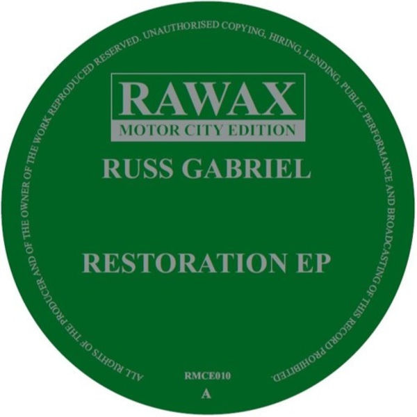 Russ Gabriel - Restoration EP