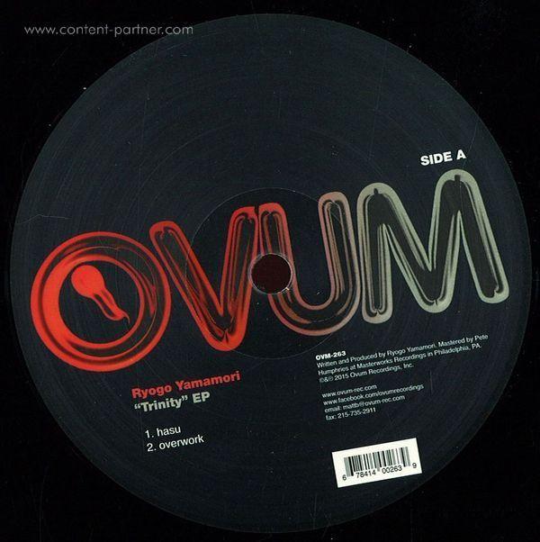 Ryogo Yamamori - Trinity EP