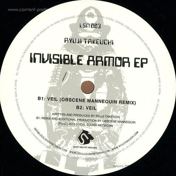 Ryuji Takeuchi - Invisible Armor EP