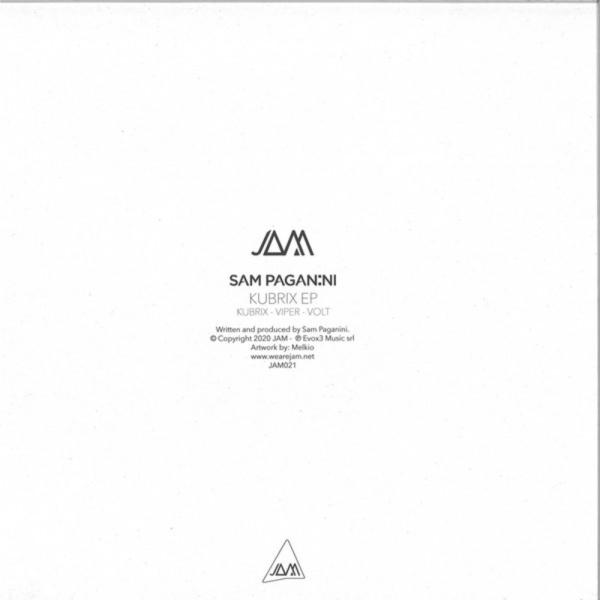 SAM PAGANINI - KUBRIX EP (Back)